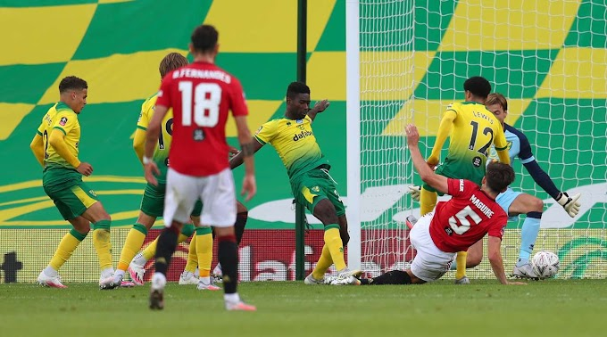Video highlight As Manchester United win Norwich 1-2 in extra time