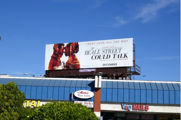 If Beale Street Could Talk billboard