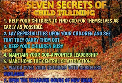 Seven secrets of Child Training