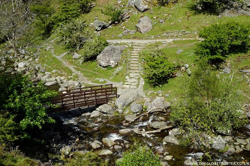 Bridge near the Aber Falls in Wales