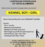 Lowongan Pekerjaan di CV. Duta Alumindo Surabaya Januari 2021