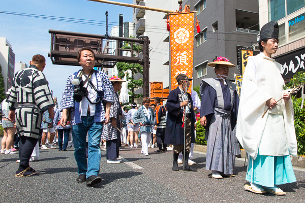 Reitaisai Festival, Suga Shrine, Asakusabashi.