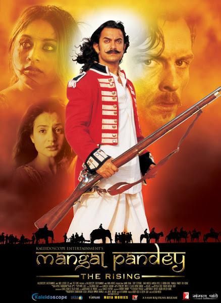 Poster of Mangal Pandey 2005 [Full-Hindi-Movie] 720p HDRip x264 ESubs Download
