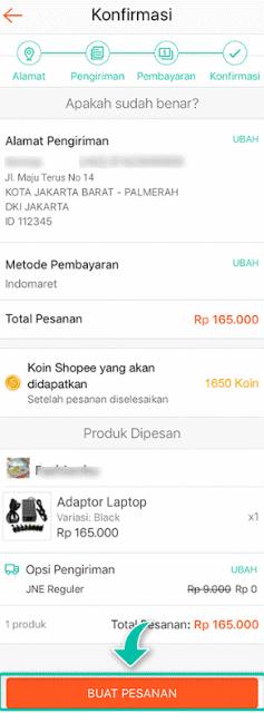 Cara Bayar Belanja di Shopee Lewat Indomaret