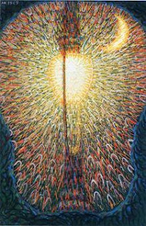 Balla's extraordinary 1909 painting Street Light (Lampada ad arco)