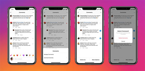 Get rid of negative comments from nstagram: Instagram Lets Users Pin Comments to the Top of Posts: eAskme