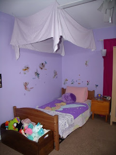 girl room canopy