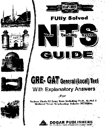 Dogar Publishers NTS GRE GAT General Guide Book In PDF