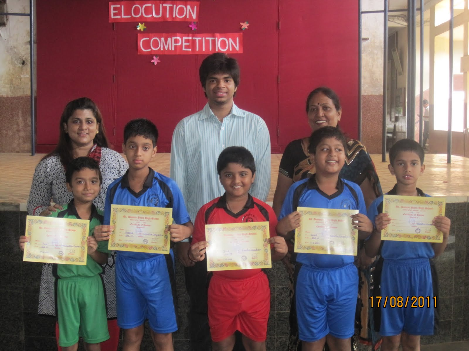 prize winning poems for elocution