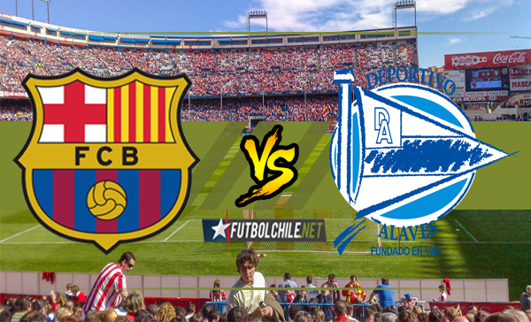 Barcelona vs Deportivo Alavés