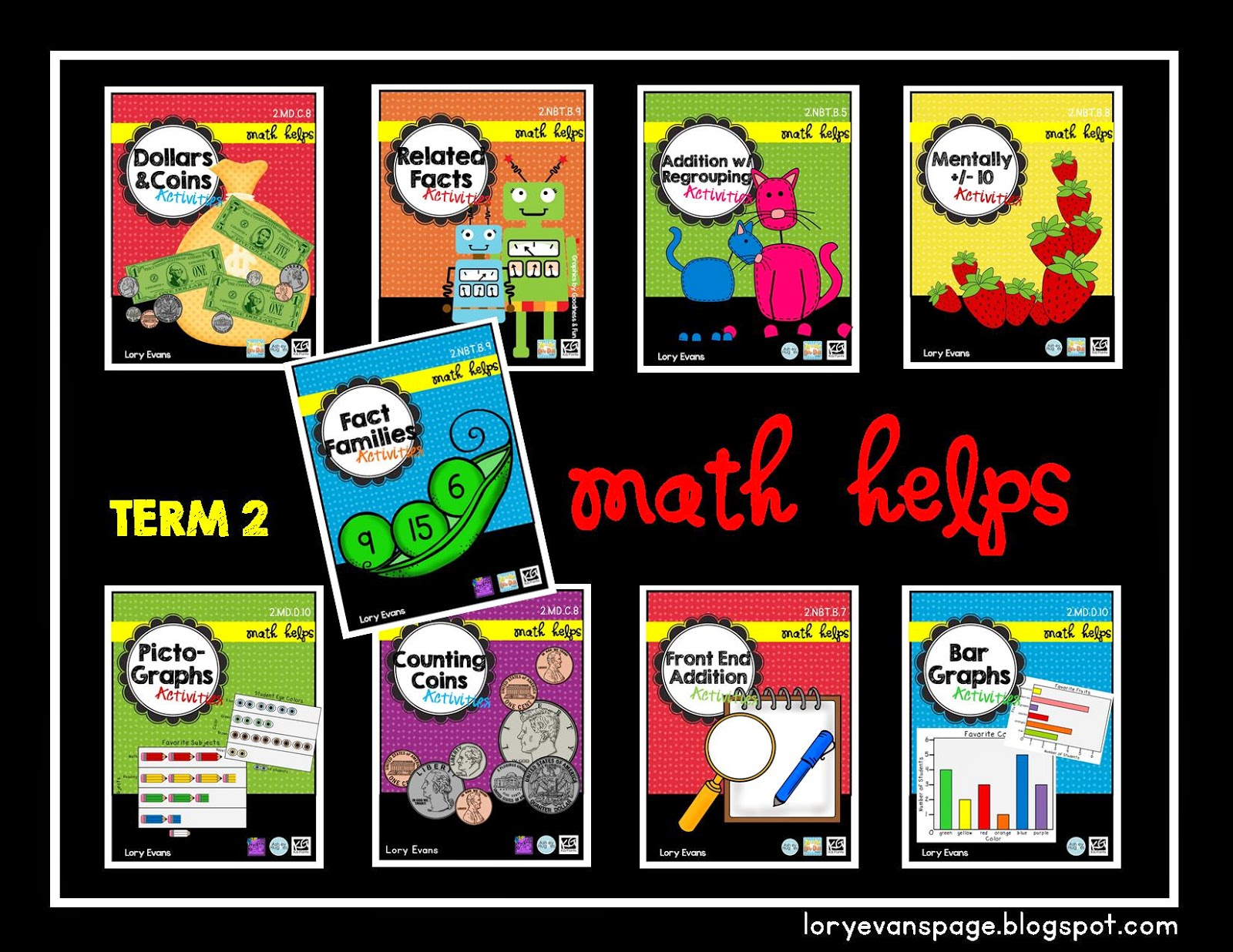 Lory S 2nd Grade Skills Math Helps For A Whole Year