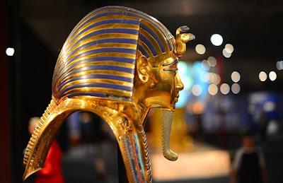 Egyptian Golden Funerary Masks