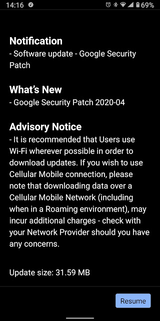 Nokia 9 PureView receiving April 2020 Android Security Patch
