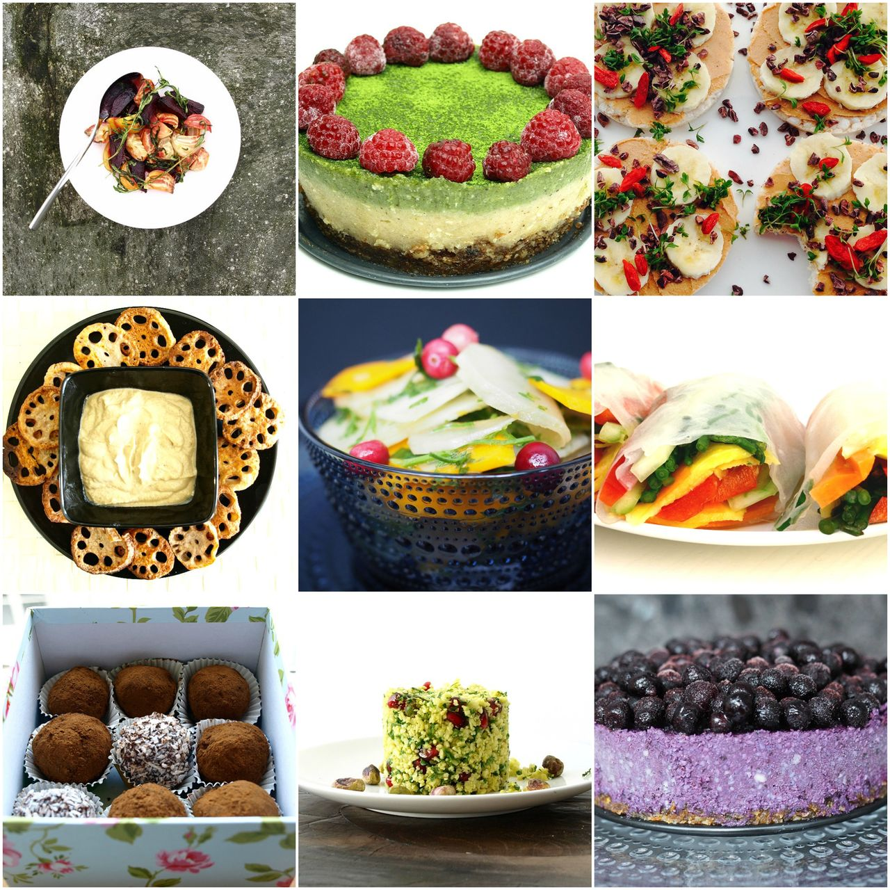 Vegan recipes by Terra e Luna