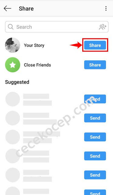 Cara Membagikan Postingan Feed Ke Story Instagram Supaya Banyak yang Melihat