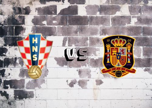 Croacia vs España  Resumen y Partido Completo