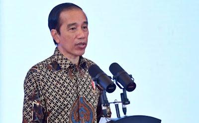Presiden Joko Widodo melakukan kocok ulang kabinet atau reshuffle di tengah pandemi virus corona (Muchlis-Biro Setpres