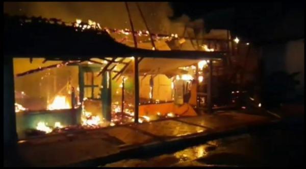 Rumah Kontrakan di Kota Banjar Terbakar, Lalu Lintas Jawa Barat-Jawa Tengah Dialihkan