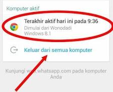 Cara Mengetahui Akun Whatsapp Dari Kegiatan Penyusup