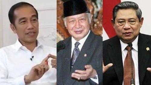 Ferdinand Adakan Survei Presiden Terbaik Indonesia, Jokowi Menang Telak! Ungguli SBY dan Soeharto