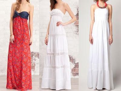 vestidos largos de stradivarius 2012