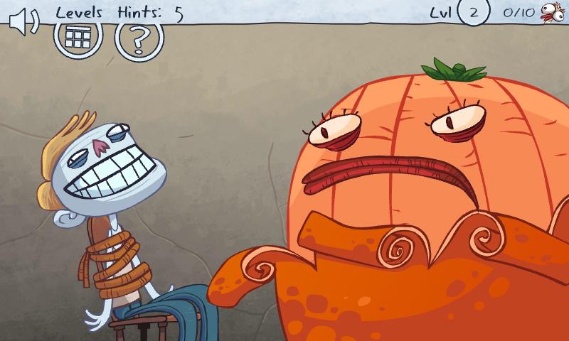 Cara Menyelesaikan Troll Face Quest Video Memes Level 1-48 - MUSTOFA