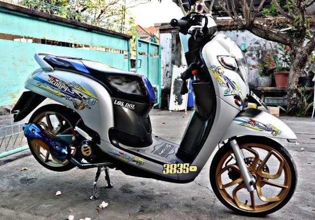 Honda Scoopy Modifikasi Thailook