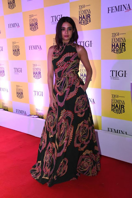 Surveen Chawla walks the Red Carpet of Femina Salon & Spa Hair Heroes