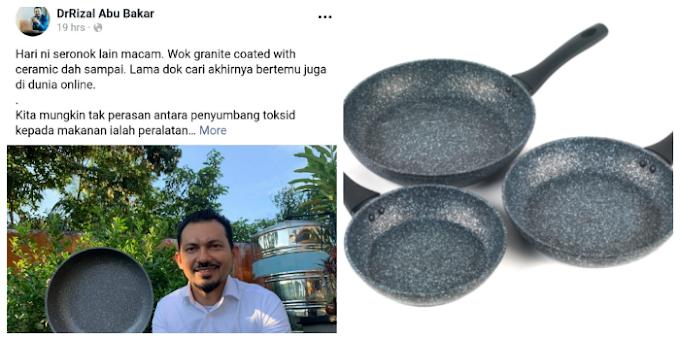 Tips guna peralatan memasak seramik,Doktor Dedah Rupanya Ada Sesuatu