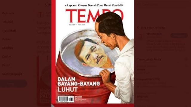CEK FAKTA: Heboh Cover Majalah Tempo 'Dalam Bayang-Bayang Luhut', Benarkah?