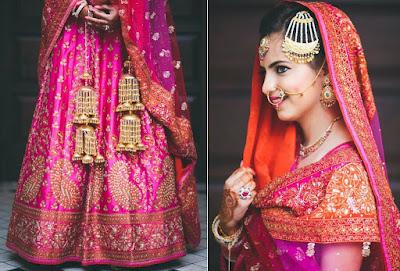 Stylish-Designer-Bridal-Lehenga-Designs-2017-By-Ritu-Kumar-1