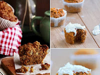 Recipe Delicous and Healthy Carrot Cake Muffins