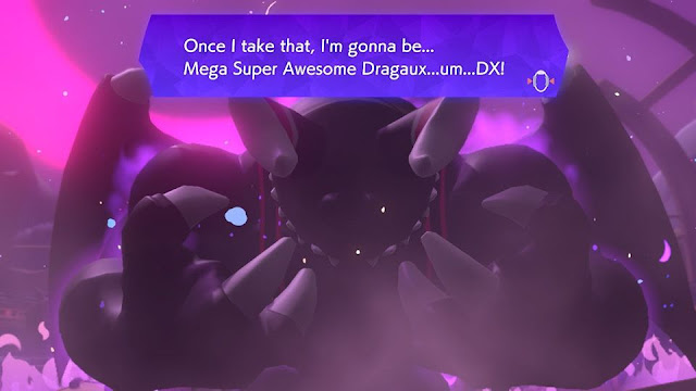 Ring Fit Adventure Mega Super Awesome Dragaux DX dialogue
