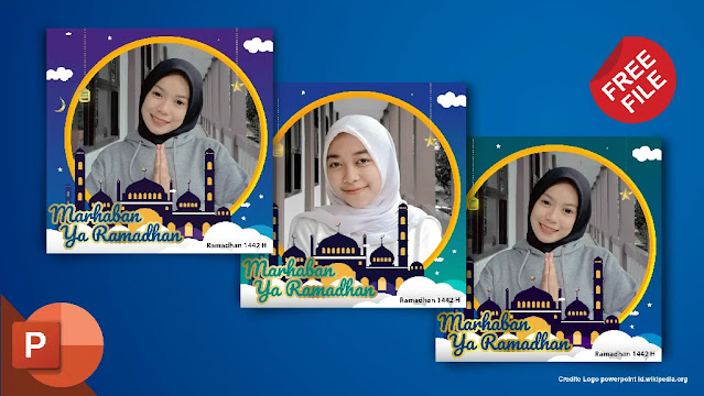 Free File : Download Kumpulan Twibbon Ramadhan powerpoint