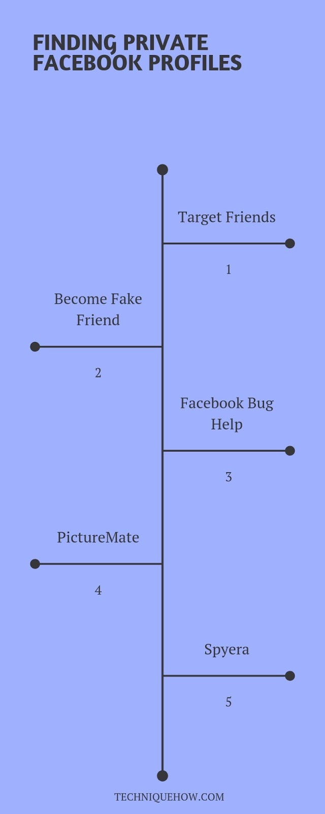 See Private Facebook Profiles infographics