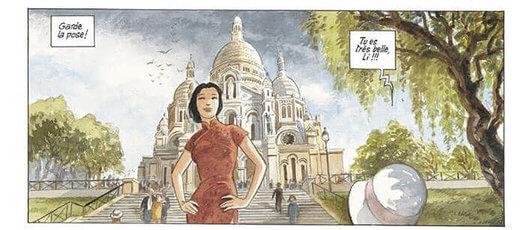 China Li tome 2 - Li en séjour à Paris, apprend la photo