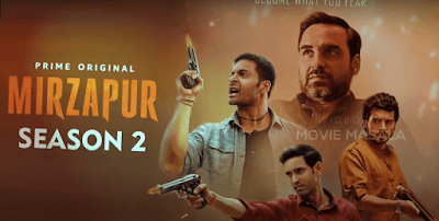 mirzapur 2 poster, mirzapur series hd wallpaper
