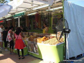 traditional cyprus sweet stalls