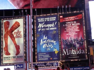 comédies musicales Broadway