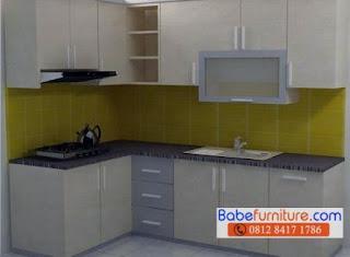 Babe furniture jasa pembuatan kitchen set bogor 0812 for Tukang kitchen set