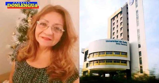 Profesora de la Universidad del Zulia asesinada a puñaladas junto a su esposo para robarlos