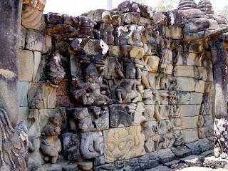 TEMPLOS DE ANGKOR. SIEM REAP. CAMBOYA. (3) Terraza de los elefantes