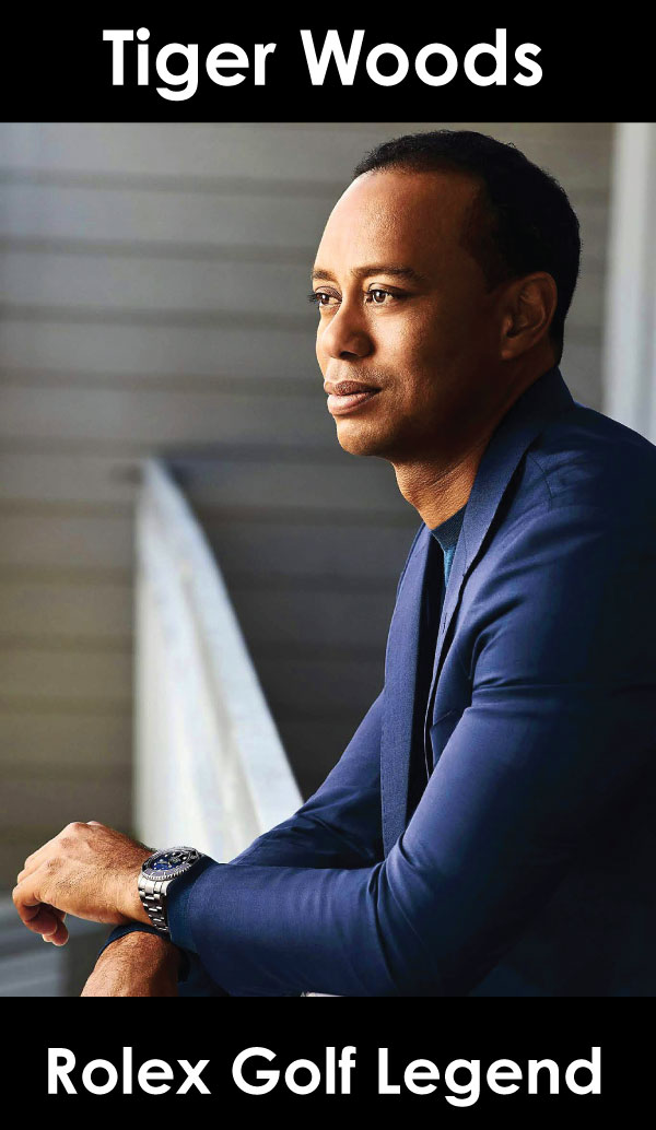 Tiger Woods Rolex Golf Legend