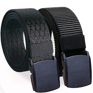 Men's Military-Style Nylon Belts