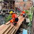 Prefeitura revitaliza pontes de madeira na Praça 14