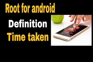Root word for android | Definition | Time taken