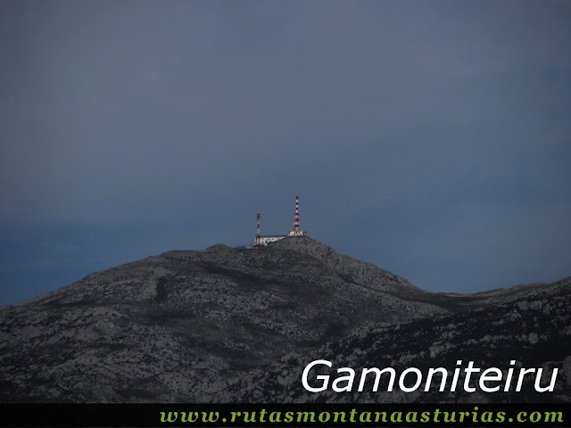 Circular Coañana Saleras: Vista del Gamoniteiru