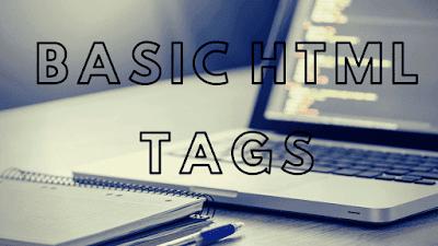 Basic html tags in hindi