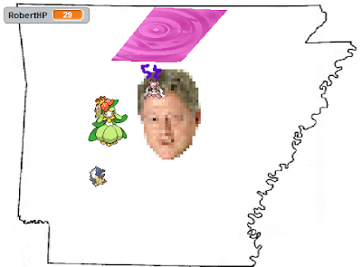 Secret Power Arkansas Capture the Confederate Flag Stoutland Diamond Storm Mega Diancie Bill Clinton