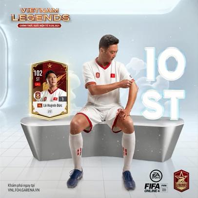 FIFA ONLINE 4   Review tiền đạo Lê Huỳnh Đức Việt Nam Legends ⭐⭐⭐⭐